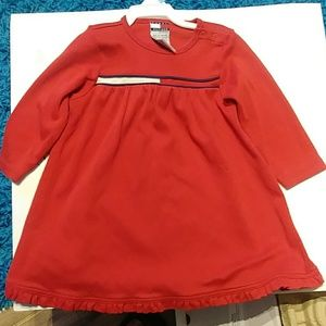 Tommy Hilfiger Toddlers Red Dress Size 12-18 m